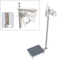 WE150P3M(X) 150kg/50g szalka 25x30cm Waga osobowa ze wzrostomierzem mechanicznym i funkcją BMI (legalizacja w cenie)