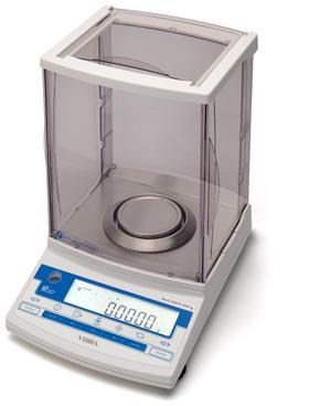 HT-224RCE waga laboratoryjna z kalibracją wewnętrzną, RS232, szalka: fi 80mm