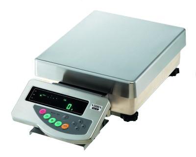 HJR17KSCE (17kg/0,1g) liczenie sztuk, szalka: 400x350mm, waga elektroniczna precyzyjna, RS232