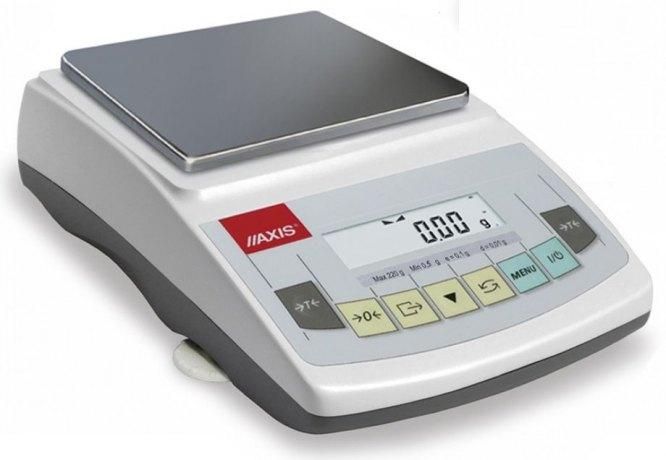 AKA2200 (2200g/0,01g, szalka 165x165mm) elektroniczna waga laboratoryjna profesjonalna, RS232C, kalibracja wewnętrzna, jednostki: ct, lb, oz, ozt, gr, dwt