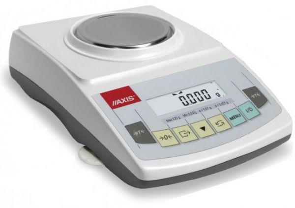 AKZ220 (220g/0,001g, szalka Ø115mm) elektroniczna waga laboratoryjna profesjonalna, RS232C, kalibracja zewnętrzna, jednostki: ct, lb, oz, ozt, gr, dwt - legalizacja dodatkowo płatna