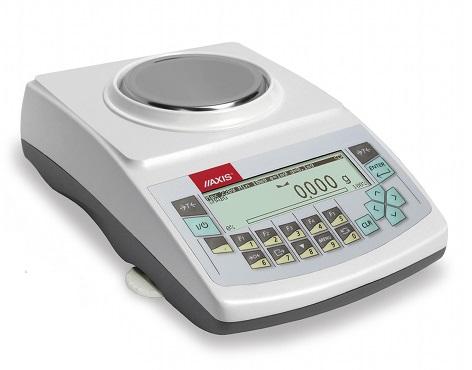 AKA520G (520g/0,001g) szalka ø115mm, waga elektroniczna laboratoryjna profesjonalna, RS232C, USB, PS2 do zewnętrznej klawiatury, zegar, kalibracja wewnętrzna
