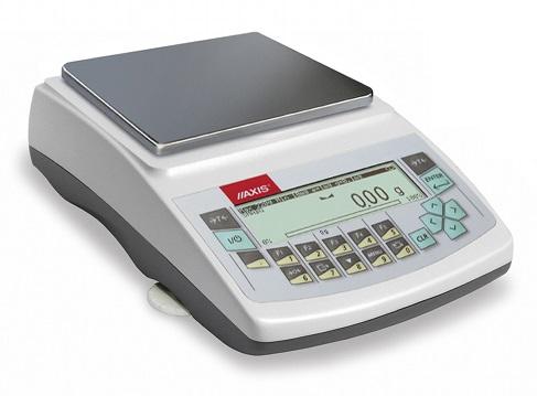 AKA4200G (4200g/0,01g) szalka 165x165mm, waga elektroniczna laboratoryjna profesjonalna, RS232C, USB, PS2 do zewnętrznej klawiatury, zegar, kalibracja wewnętrzna