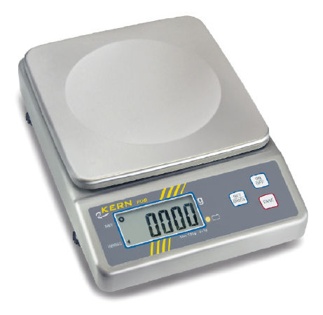 Bench scale 0,5 g : 1500 g