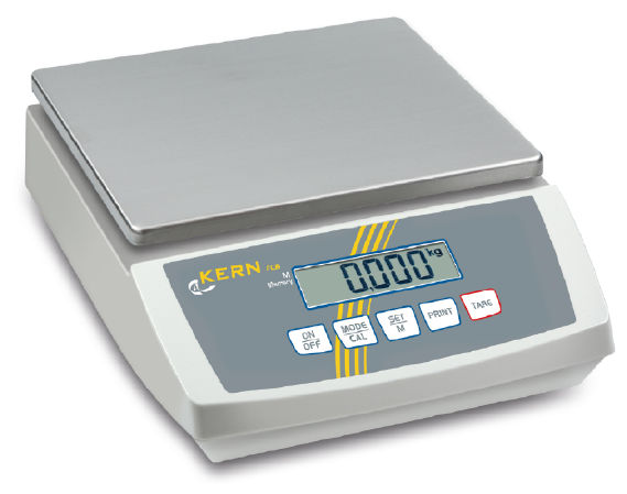 Bench scale 0,5 g : 6 kg