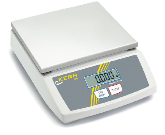 Bench scale 2 g : 6 kg