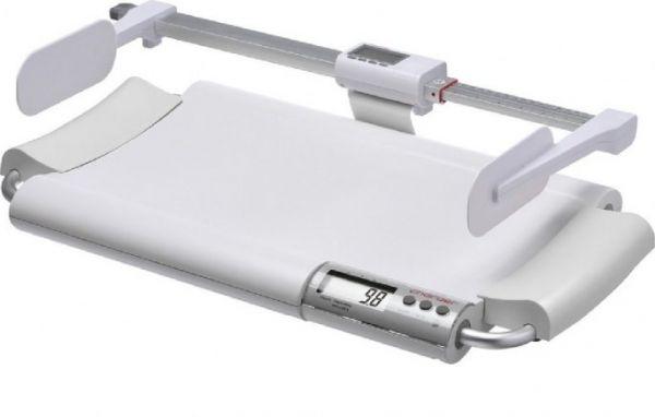 Elektroniczna waga medyczna niemowlęca z legalizacją i wzrostomierzem mechanicznym Charder MS2400 (klasy III) + Charder HM80M