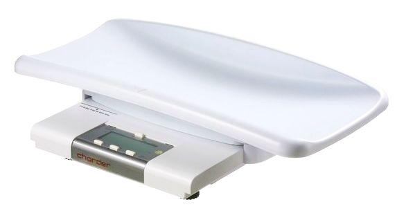 Elektroniczna waga medyczna niemowlęca do ważenia niemowląt w pozycji leżącej lub pionowej Charder MS4200 (klasy III) z legalizacją
