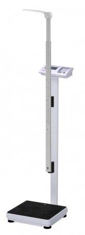 Elektroniczna waga medyczna Charder MS4940 + wzrostomierz teleskopowy (60-200cm) + funkcja BMI (klasy III) - większa dokładność ważenia