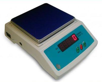 SATIS BS600 LED (udźwig 600g, dokładność 0,1g, szalka 125x145mm) - elektroniczna waga laboratoryjna