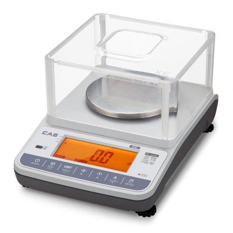 CAS XE 300 CD jubilerska waga laboratoryjna, udźwig: 300g, działka: 0,005g (odczytowa), 0,05g (legalizacyjna) - dostępność na zapytanie