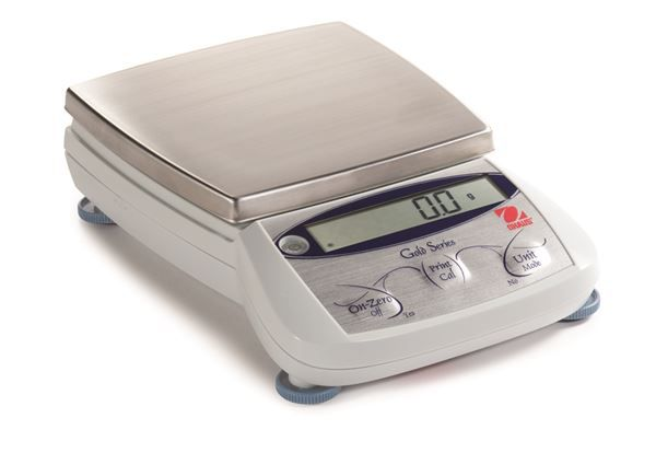 Ohaus TAJ 6000 - TAJ Carat Series 6000g, d=1g, waga jubilerska Ohaus, szalka 137 x 140 mm