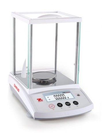 PR Analytical PR124M waga analityczna, szalka Ø90mm, 120g/d=0,1mg, e=1mg, kalibracja automatyczna - z legalizacją