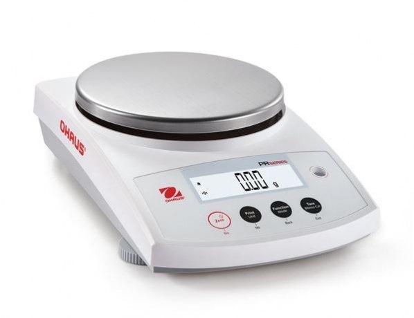 PR Precision PR4202M - elektroniczna waga precyzyjna, szalka Ø180mm 4200g/d=0,01g, e=0,1g, kalibracja automatyczna - z legalizacją