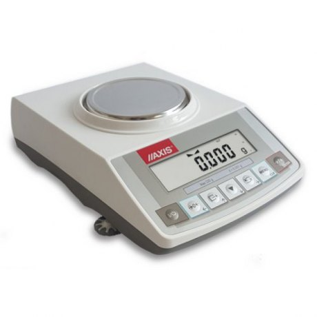 ACA220 (220g/0,001g, szalka Ø115mm) elektroniczna waga laboratoryjna profesjonalna, RS232C, kalibracja wewnętrzna, jednostki: ct, lb, oz, ozt, gr, dwt