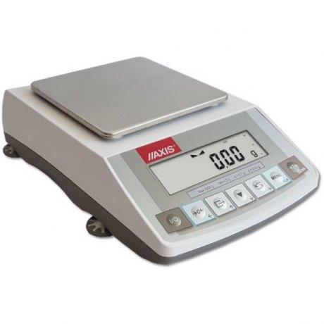 ACA2200 (2200g/0,01g, szalka 165x165 mm) elektroniczna waga laboratoryjna profesjonalna, RS232C, kalibracja wewnętrzna, jednostki: ct, lb, oz, ozt, gr, dwt