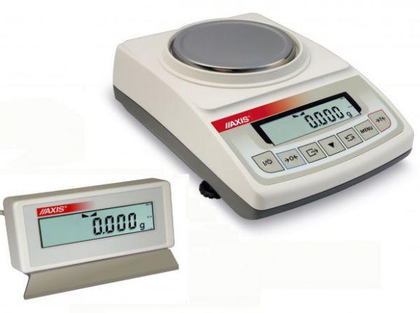 ATZ2200R 2200g/0,1g, szalka ø150mm - elektroniczna waga jubilerska z dodatkowym wyświetlaczem, RS232C